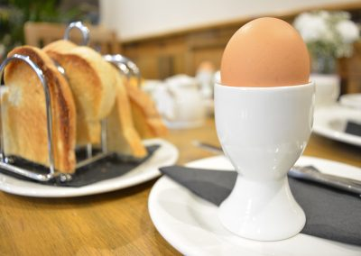 Boiled Egg & Rack of Toast