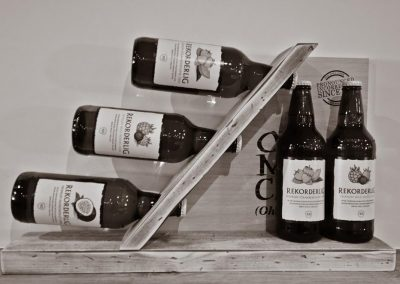 Greyhound Inn Bottled Ciders Black & White