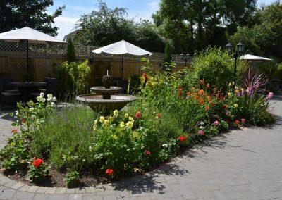 Greyhound Inn Garden