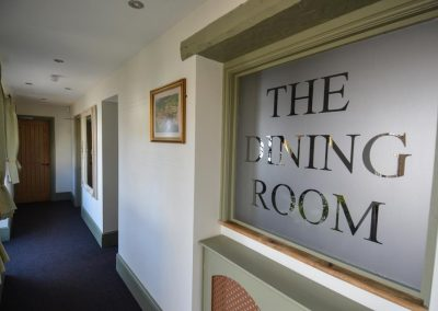 The Dining Room Sign